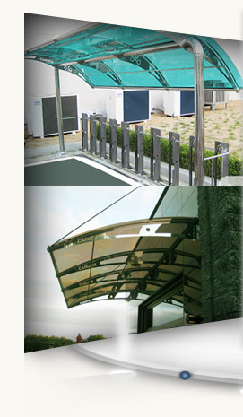 polycarbonate canopy_Canofix